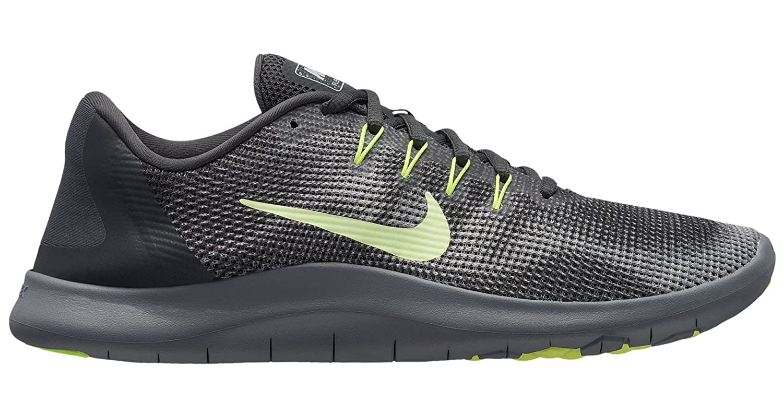 Nike Herren Laufschuh Flex Run 2018, Zapatillas de Running para Hombre 11.5 D(M) US|Antracita