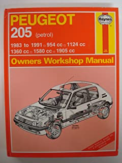 Peugeot 205 Owners Workshop Manual