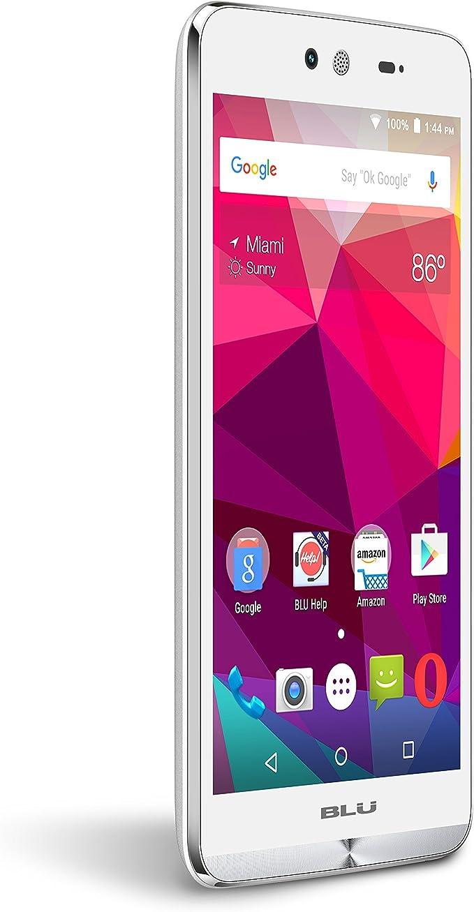 BLU Dash X Smartphone - US gsm Desbloqueado - Blanco: Amazon.es ...