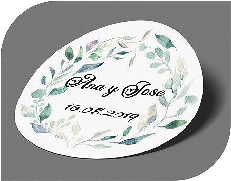 Una idea original y bonita de decorar los detalles de tu boda. Quedan genial para personalizar los r