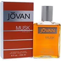Jovan Musk Aftershave for Men, 1179.34 Grams