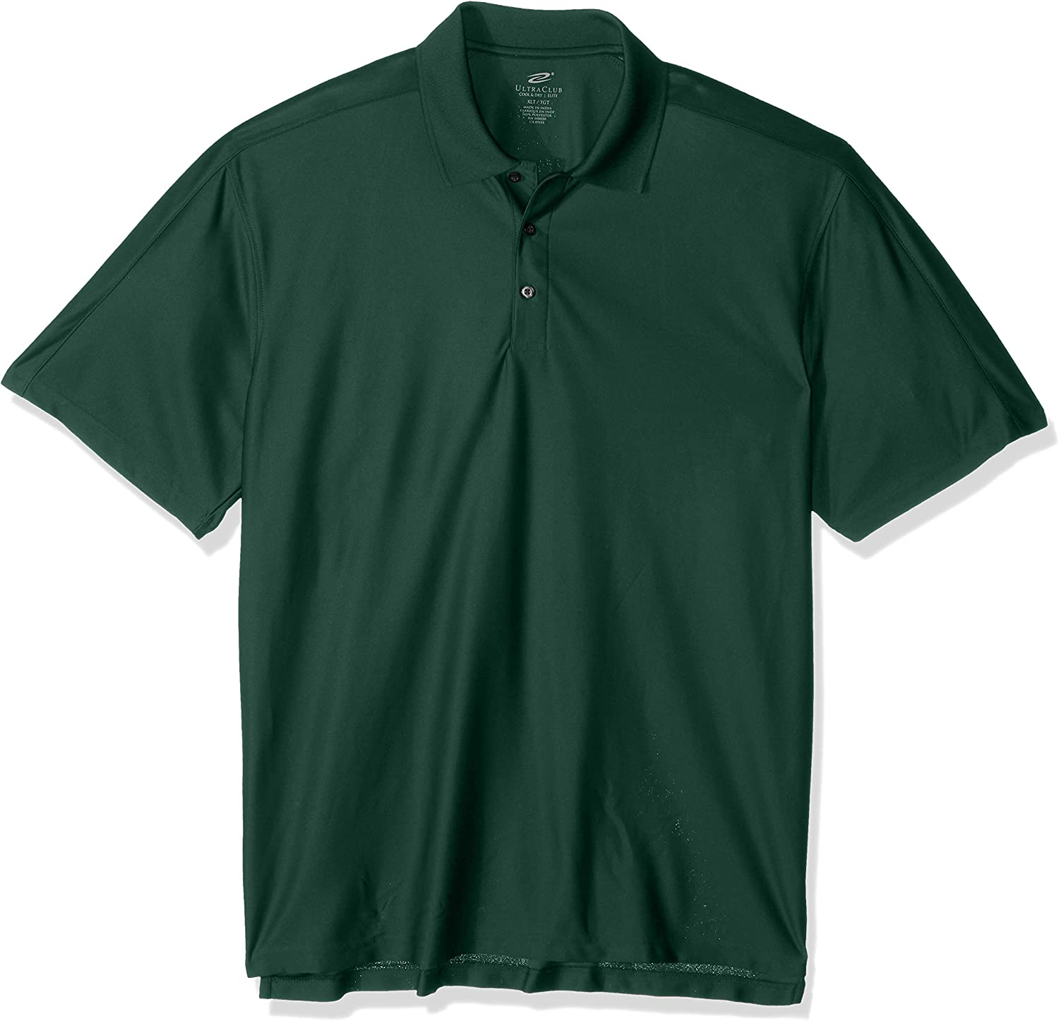 UltraClubs Mens Size Tall Cool /& Dry Elite Performance Polo