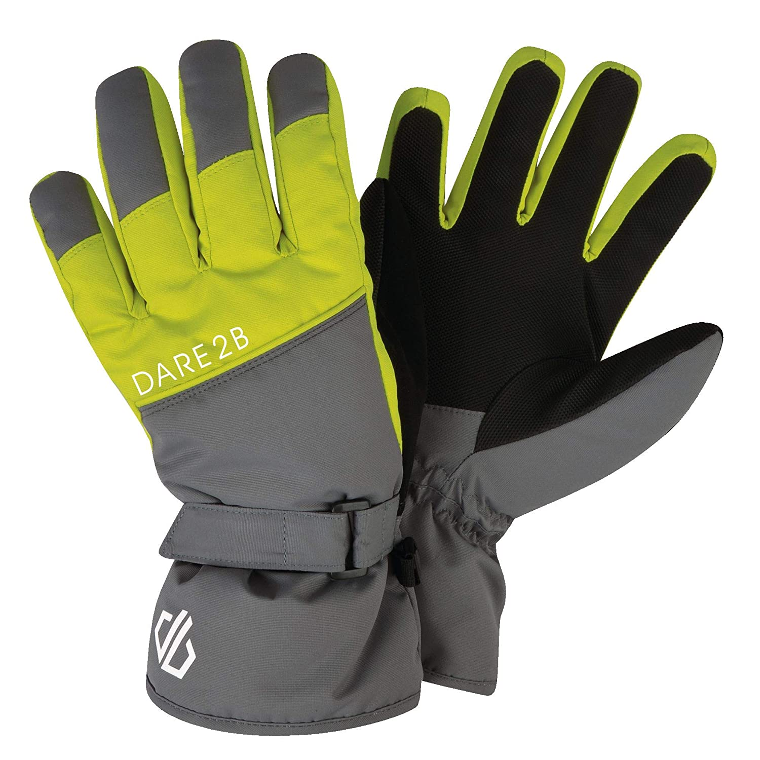Guanti Unisex Bambini Dare 2B Mischievous Waterproof High Loft Insulated Ski And Snowboard Glove with Gripped Palm