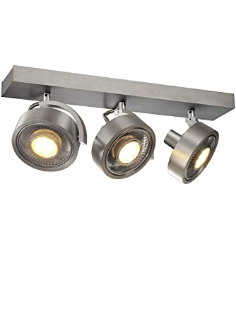 SLV LED Strahler KALU QPAR111 dreh- und schwenkbar   Dimmbare Wand ...