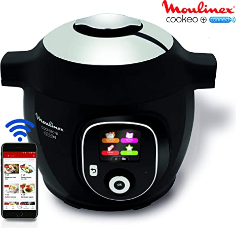 Moulinex Cookeo+ Connect olla multi-cocción 6 L 1600 W Negro ...