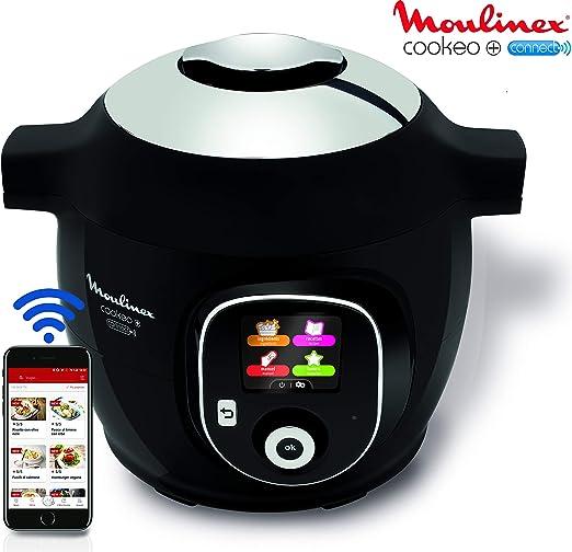 Robot de cocina Cookeo + Connect, con conexión a aplicación vía ...