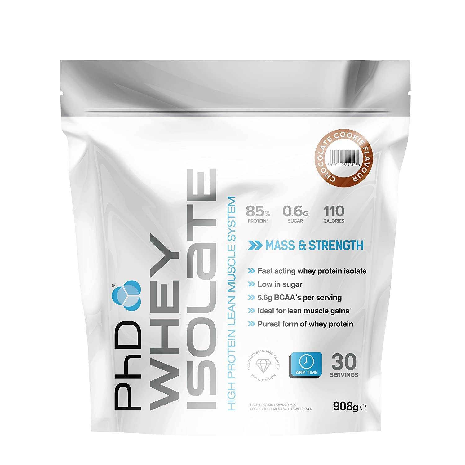 PhD Nutrition Whey Isolate Powder