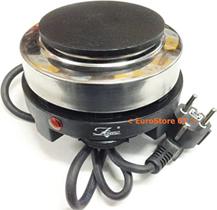 Hornillo eléctrico con termostato diámetro CM 10 Camping viaje Pr 0823055