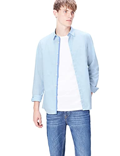 FIND Men's Shirt in Cotton Slim Fit and Button Front