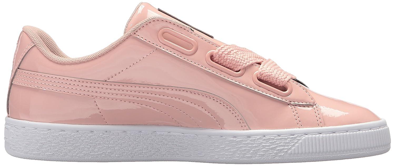 PUMA 7 Women's Basket Heart Patent Wn Sneaker B072QVM8L1 7 PUMA B(M) US|Peach Beige-peach Beige ee2a5d