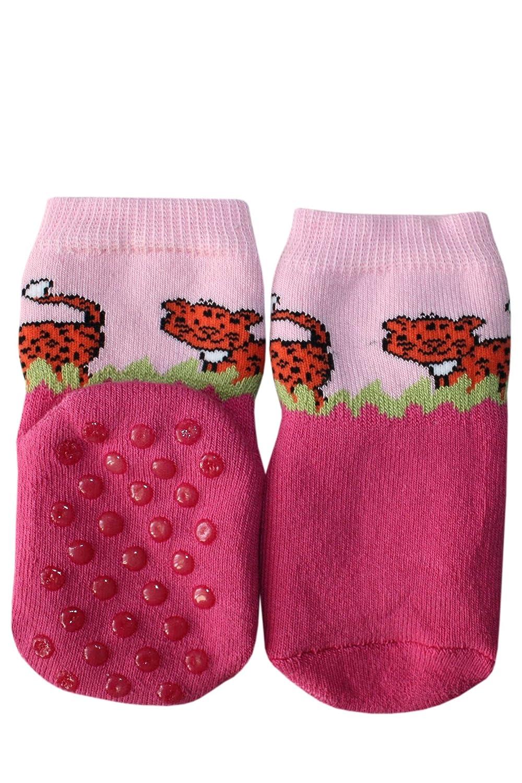 Prix a partir de constructeur. Couleur: Rose 13-14 ABS Chaussettes pour enfants anti-glissement : Taille: 0-3 Mois