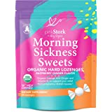 Pink Stork Morning Sickness Sweets: Ginger Raspberry Morning Sickness Candy for Pregnancy, USDA Organic + Vitamin B6…