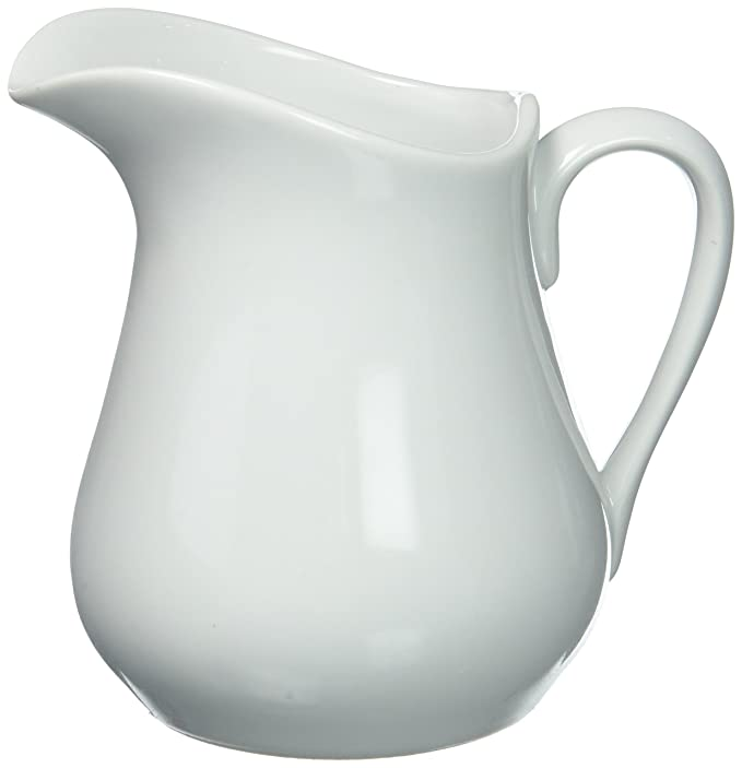 Amazon Hic Creamer Pitcher With Handle Fine White Porcelain
