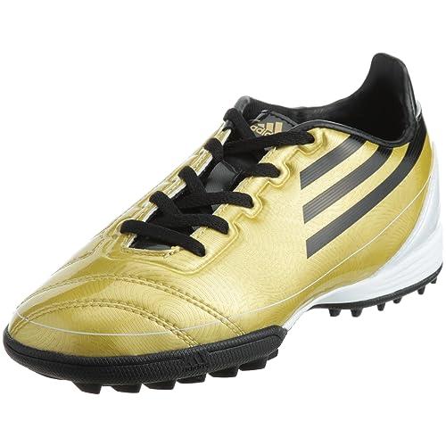 adidas - Zapatillas de fútbol Sala de Goma para niño Oro Dorado 36.5 Oro Size: 38 2/3: Amazon.es: Zapatos y complementos
