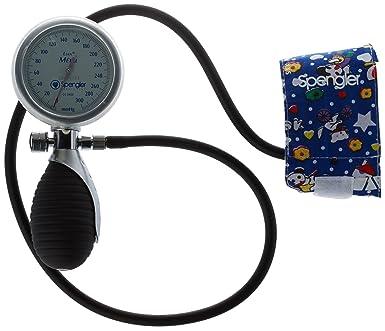 Spengler Lian - Tensiómetro manual con brazalete neonatal (velcro, algodón, talla XXS)