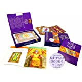 The Easy Tarot Kit: 64 page book and 78 cards deck set (box set) Tarot cards collection - understand tarot reading and it meaning using tarot card, learn mind body spirit psychic, major minor arcana cards, angle, romance, theraphy card