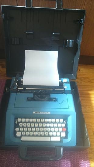 Maquina de escribir Olivetti STUDIO 46 _ Ref.18: Amazon.es: Oficina y papelería