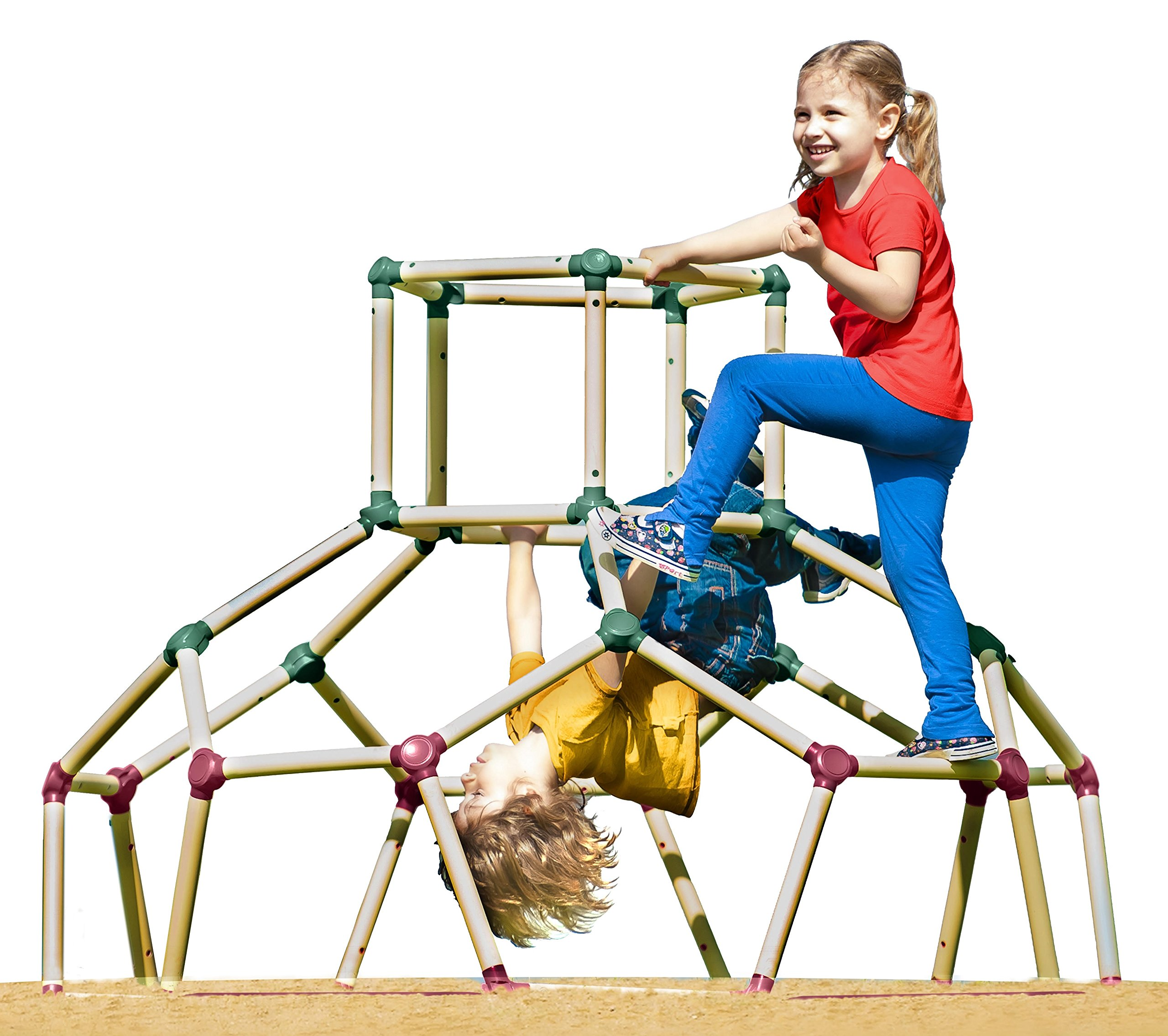 Lil Monkey Dome Climber, Multicolor by Lil' Monkey