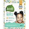 Seventh Generation 504 Count Free & Clear w/Flip Top Dispenser Baby Wipes