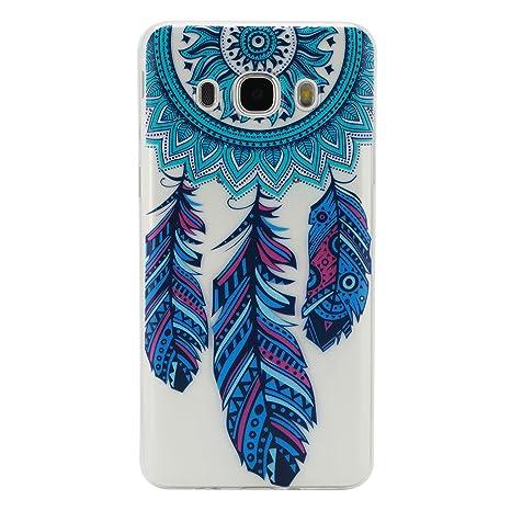 Beiuns Samsung Galaxy J5/J5 Duos (5,2 pulgadas,2016)(no para Samsung Galaxy J5 2015) Carcasa de TPU y silicona Funda - HX515 Dreamcatcher