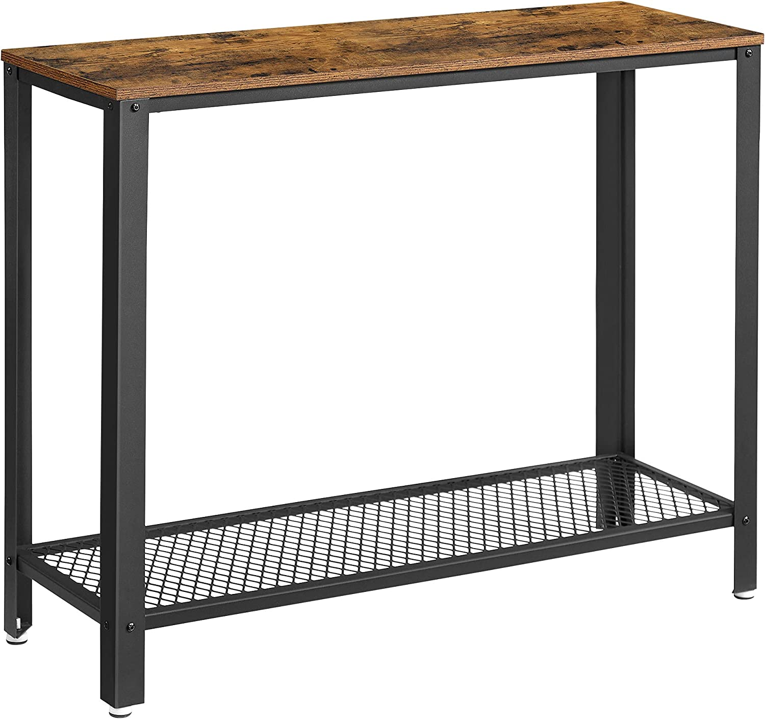 VASAGLE Rustic Brown ULNT80X Console Table $58.69 Coupon