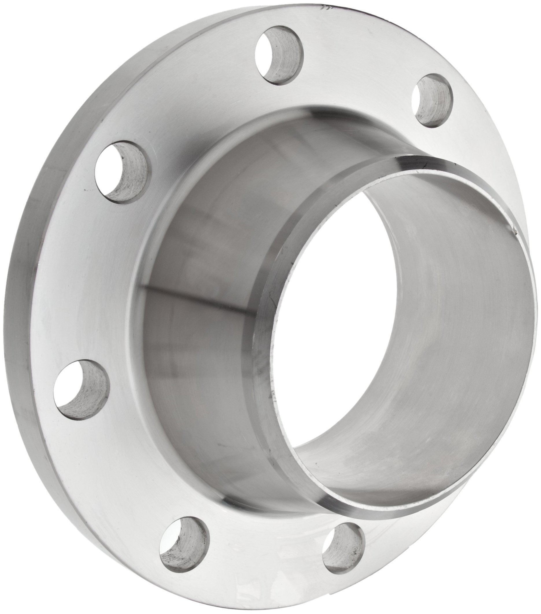 Stainless Steel 304/304L Weld Neck Pipe Fitting, Flange, Schedule 40, Class 150, 6'' Pipe Size by Merit Brass (Image #1)