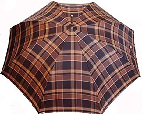 Paraguas largo hombre doppler carbonsteel cuadros clásicos