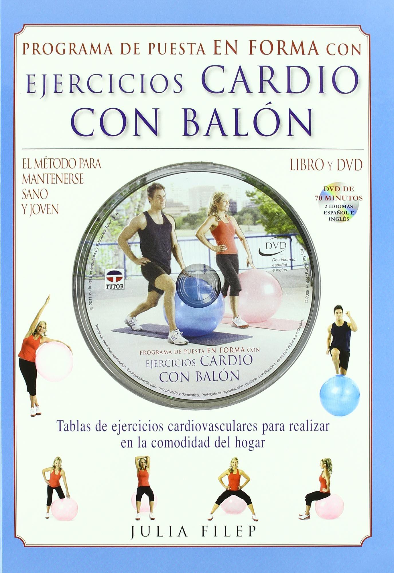 Ejercicios cardio con balon / Cardio Ball. Fitness Workout ...