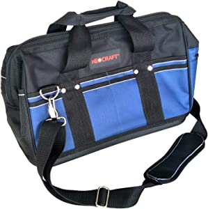 "Neocraft N13003 16"" Tool Bag with Rigid Plastic Base"