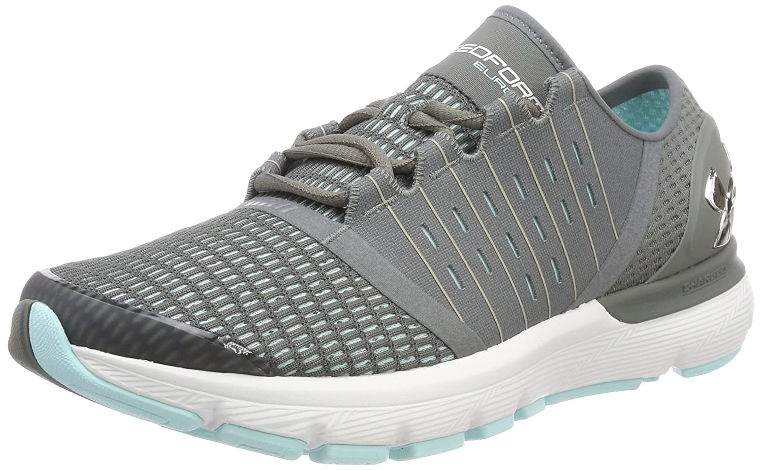 Under Armour Women's Speedform Europa Running Shoe B07121Y1MP 9 B(M) US|Grey