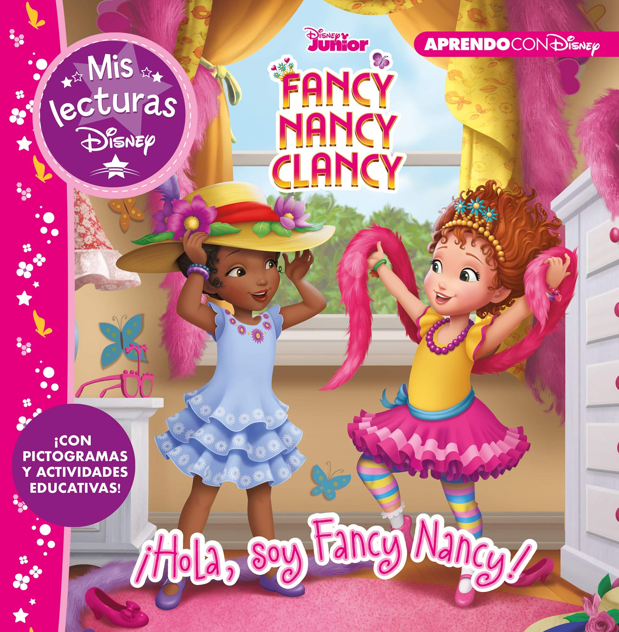 Fancy Nancy Clancy Hola Soy Fancy Nancy Mis Lecturas Disney Con Pictogramas Y Actividades Educativas Spanish Edition Disney 9788417630263 Amazon Com Books