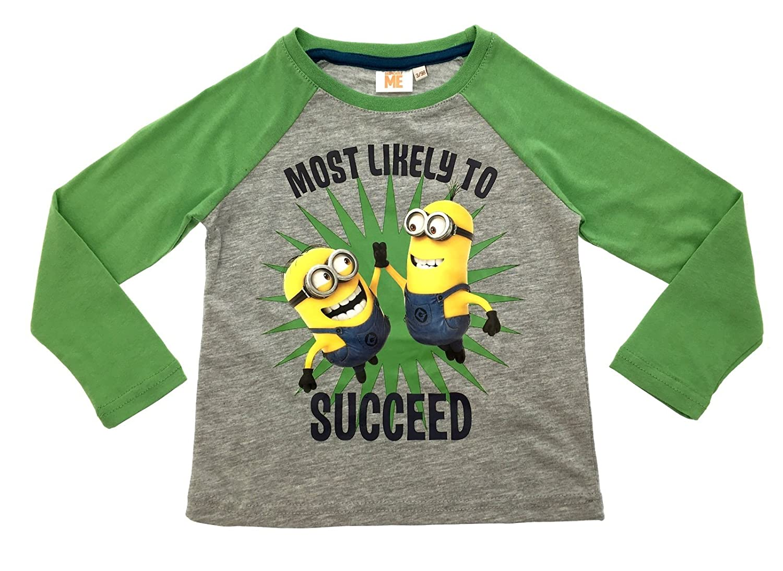 Despicable Me Minions Boys Long Sleeve T-Shirt
