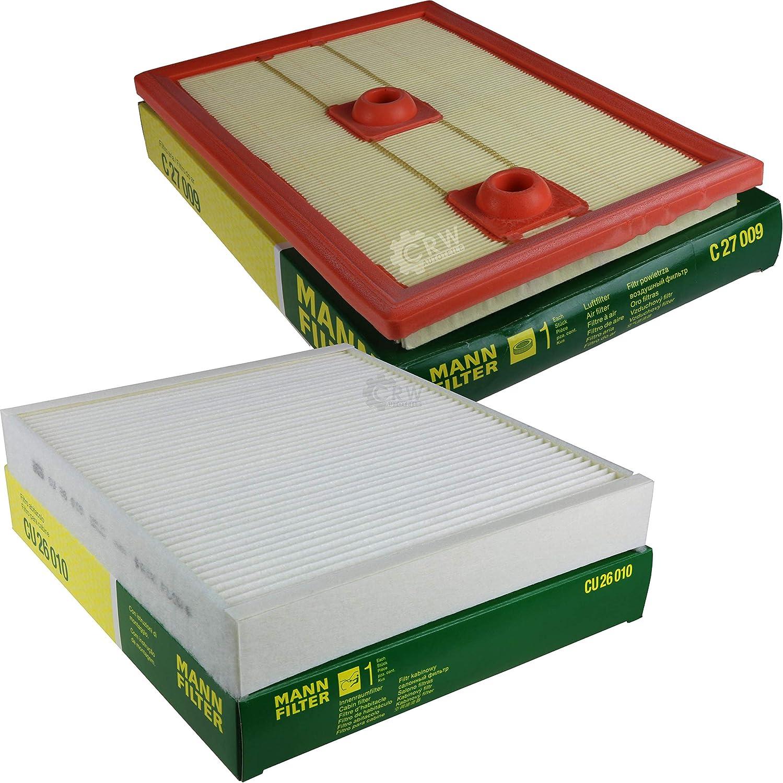 MANN-FILTER Inspektions Set Inspektionspaket Innenraumfilter Luftfilter