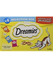 Dreamies Cat Treats Selection Box, 30 g (Pack of 4)