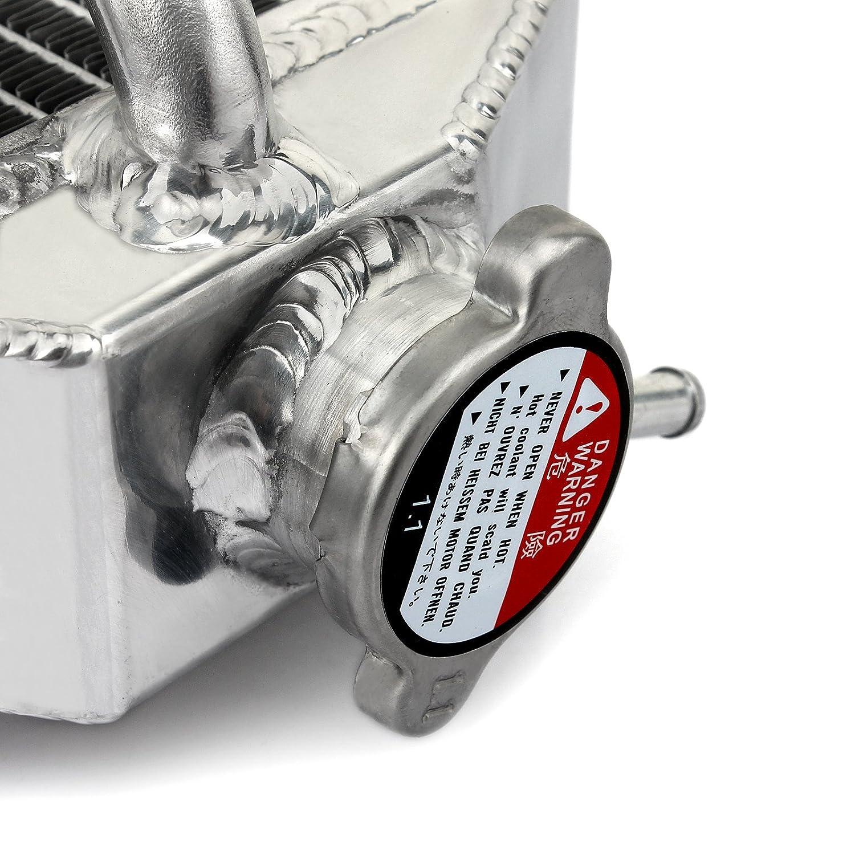 TARAZON Moto alluminio radiatori radiatore di raffreddamento motore per Kawasaki KX450F KX-F 450 2016 2017 2018
