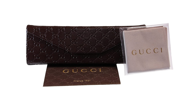 6ea22c79ac8 Gucci Women s Sunglasses GG3646 DWJ Havana Brown Gradient Lens Oval  Authentic  Amazon.co.uk  Clothing