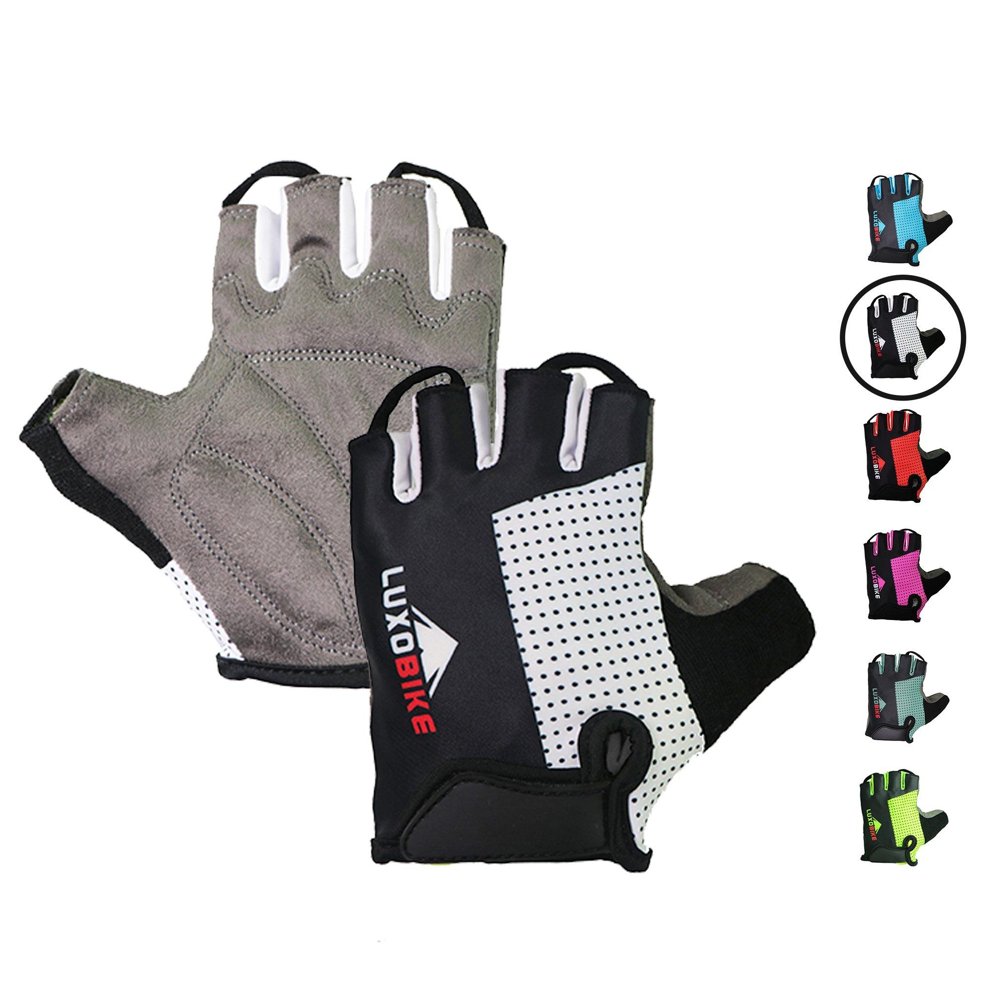 Practical 2019 Outdoor Driver Gloves Half Finger Anti Slip Gel Pad Motorcycle Working Gloves Men Women Racing Gloves Mail & Shipping Supplies