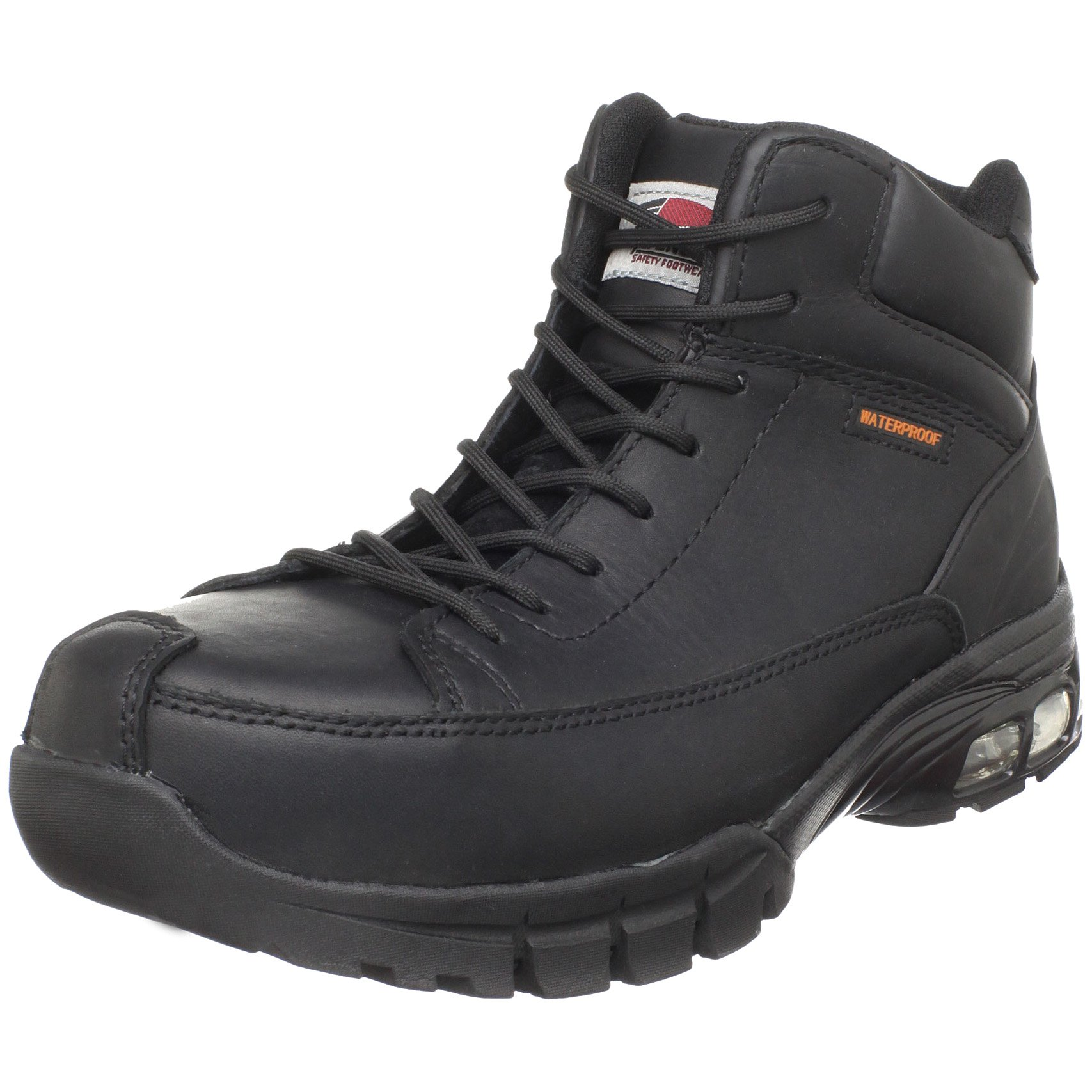 Avenger 7248 Waterproof Comp Toe No Exposed Metal EH Boot with ABS Cushioning,Black,8 M US