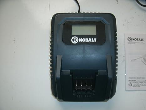Amazon.com: Kobalt 18-volt Herramienta Eléctrica Cargador de ...