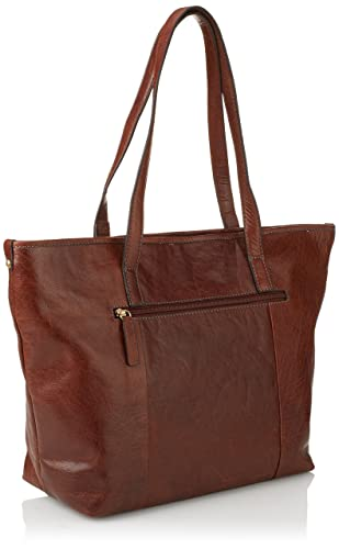 Gerry Weber Almeria Shopper, sacs bandoulière femmesMarronCognac, 46x30x13 cm (B x H x T) EU