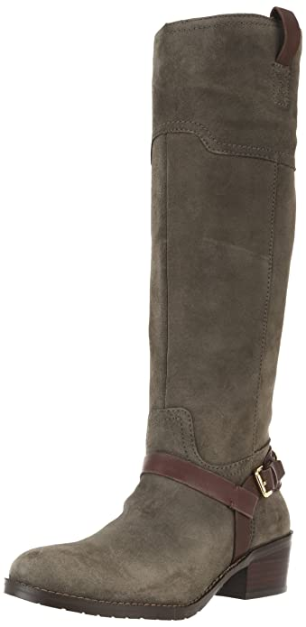 Amazon.com | Ivanka Trump Women's Abbott Riding Boot, Grey Multi ...
