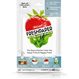 FRESHPAPER Food Saver Sheets for Produce - Keep Fruits and Vegetables Fresh, Perfect for Food Storage, Healthy Meal Prep, BPA