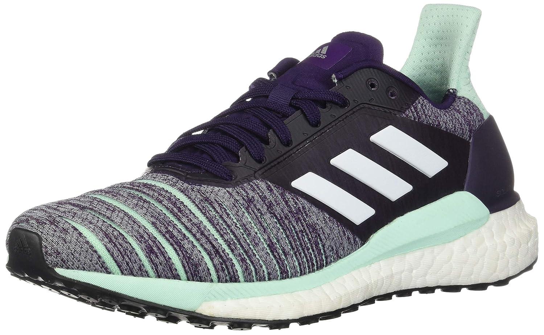 Legend Purple Footwear White Clear Mint 8 B(M) US Adidas Womens Solar Glide Running shoes