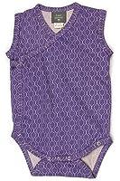 Kate Quinn Organic Unisex-baby Sleeveless Kimono Bodysuit