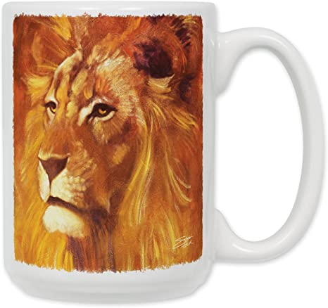 Lion Coffee Mug Kitchen Dining