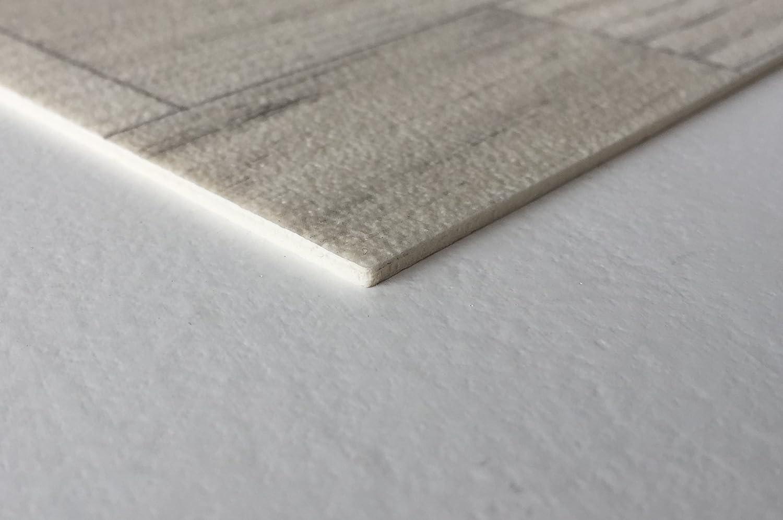CV-Boden wird in ben/ötigter Gr/ö/ße als Meterware geliefert rutschhemmend PVC-Belag verf/ügbar in der Breite 3 m /& in der L/änge 5,0 m PVC Vinyl-Bodenbelag Schiffsboden-Optik Beige