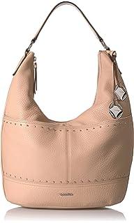 ec1519303519 Calvin Klein Liana Pebble Leather Belted Top Zip Slouchy Hobo.  81.91 · Calvin  Klein Avery Pebble Hobo