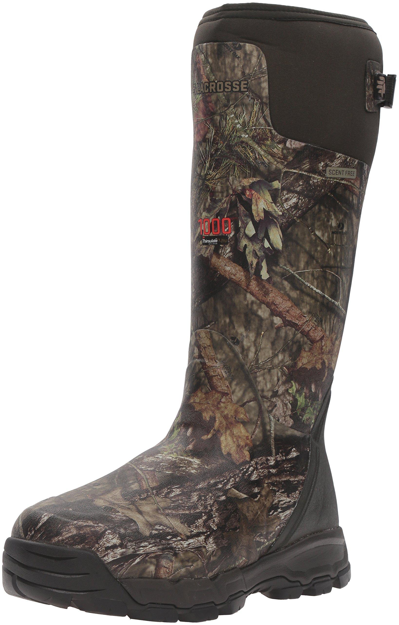 LaCrosse Men's Alphaburly Pro 18'' 1000G Hunting Shoes, Mossy Oak Break Up Country, 12 M US