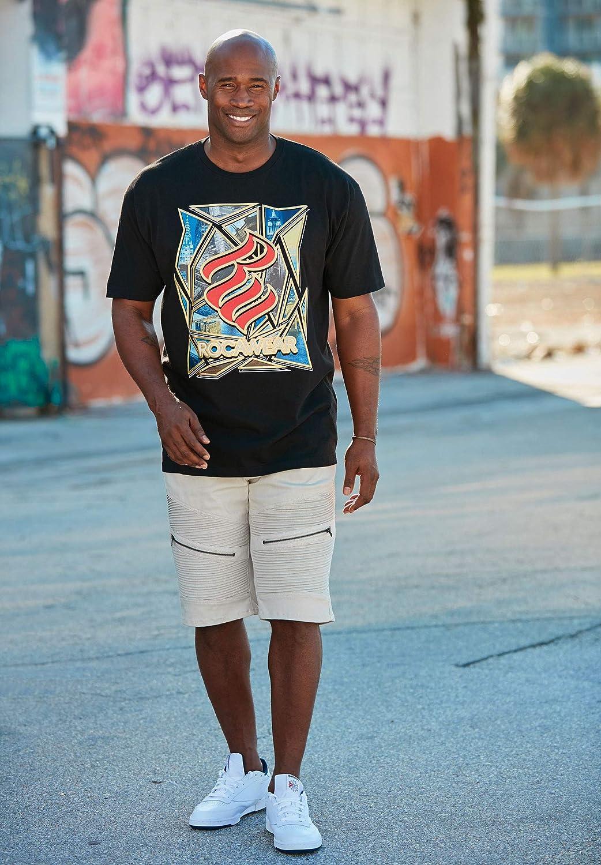 Rocawear Mens Big /& Tall Denot Shorts