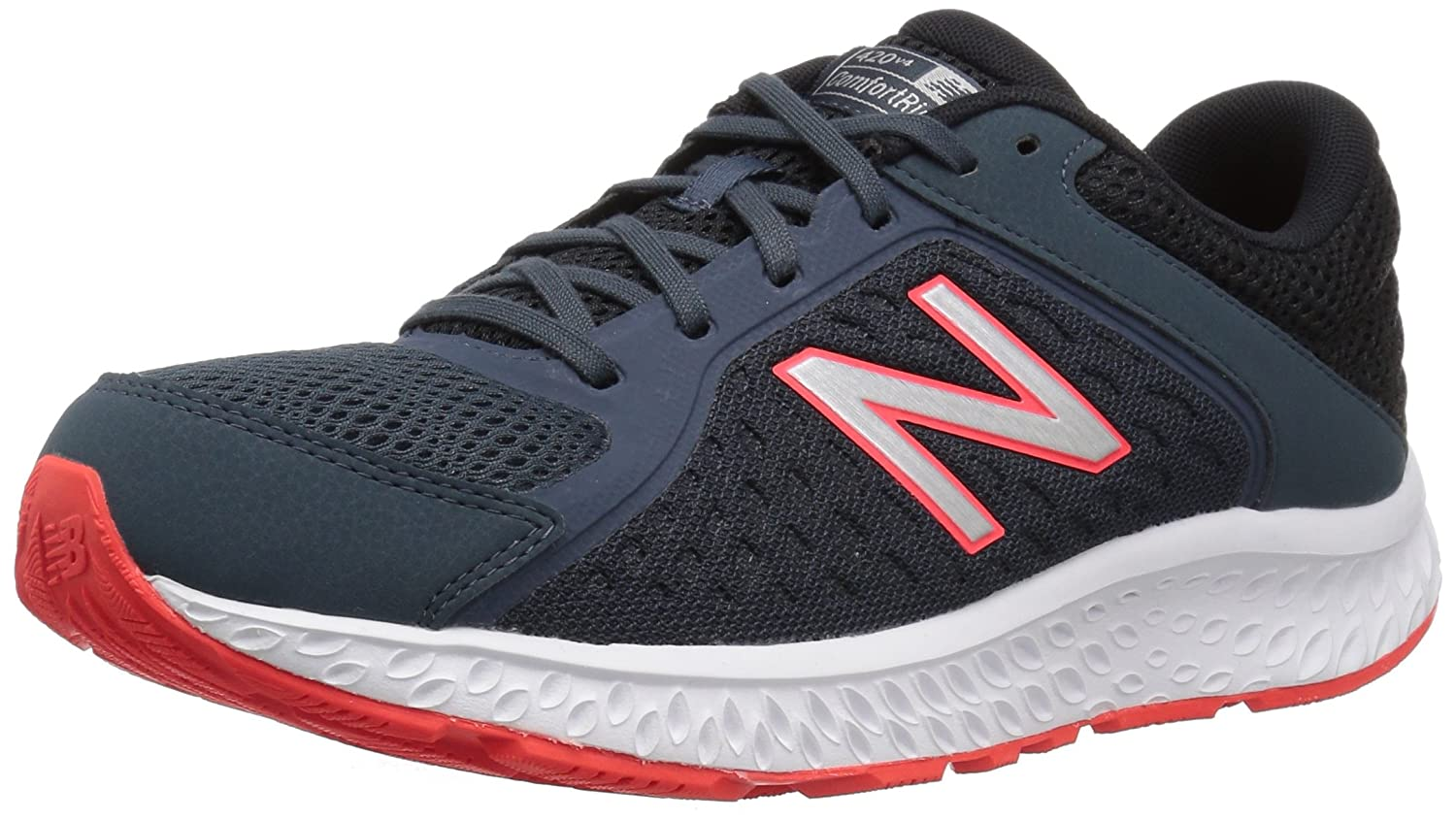 New Balance Men's 420v4 Cushioning Running Shoe B077S345W8 10 2E US|Petrol